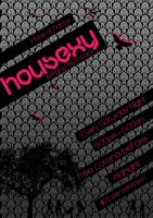 Housexy Poster 2 by musicnation