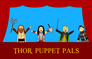 Thor Puppet Pals by The-Black-Panther