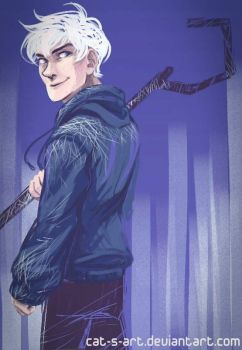 ROTG - Jack Frost by Cat-s-Art