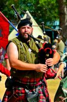 Bagpipes at the Parade by aggie00
