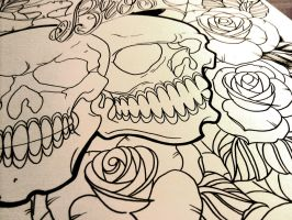 Line drawing photo by WillemXSM