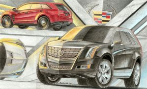 Cadillac Escalade Concept by SeawolfPaul