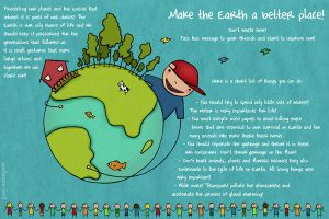 Protect the Earth:fix0cAglance by childrensillustrator