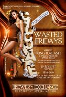 Chocolate Wasted Fridays flyer by DeityDesignz