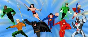 DCNU - Justice League by imapuniverse