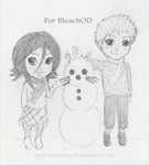 IchiRuki Chibis for BleachOD by LoverofStories