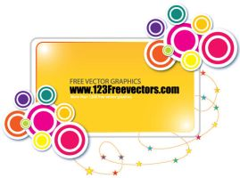 Funky Banner Vector by 123freevectors