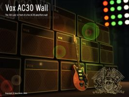 Vox AC30 Wall by Fox82