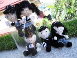 NCIS Crochet Dolls by Nissie