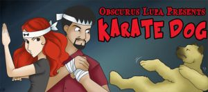 Obscurus Lupa - Karate Dog title card by Jellyfish-Station