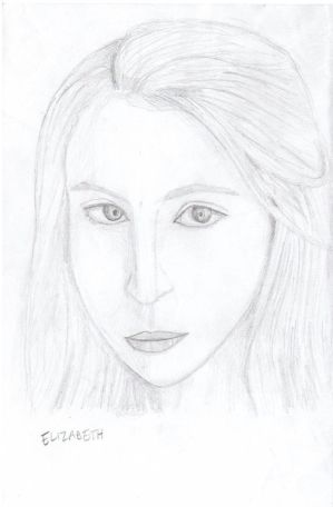 TEW Pencil Sketch: Elizabeth