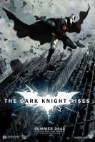 The Dark Knight Rises theatrical poster by DComp