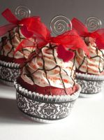 Red Velvet Faux Cupcake - 04 by CreativeAbubot