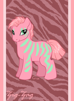 Pony Friends - ZigZag the Zebra by HellLemur