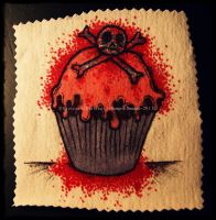 Bloody Cupcake by GrotesqueDarling13