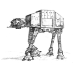 AT-AT by punkandartStJimmy