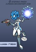 Liara Effect 3 by IlPanza