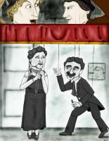 Marx Brothers with Marionettes by TigrisTheLynx