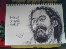 Damian Marley by LCRuss
