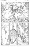 Amazing Spiderman_Hawkeye Team Up Page1 by FlowComa