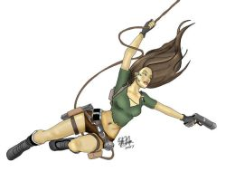 Tomb Raider by Aquasodio