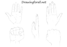 How to Draw Hands by SteveLegrand
