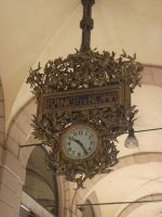 majestic clock under the arches by LilDash