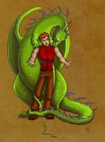 Charlie Weasley HP100: Snake by The-Starhorse