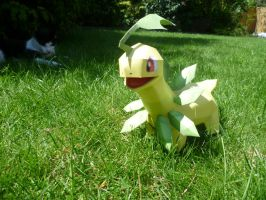 Bayleef papercraft by dodoman75