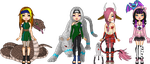 +VP+ Pixel OC's + Gift by shadowjess