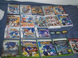 My Sonic Game Collection by Generalsupertoad