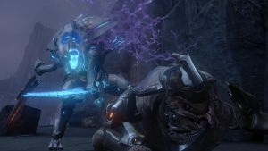 Halo 4 | Promethean Knigth and Elite by Goyo-Noble-141