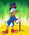Scrooge McDuck and His Money by MatthewHunter
