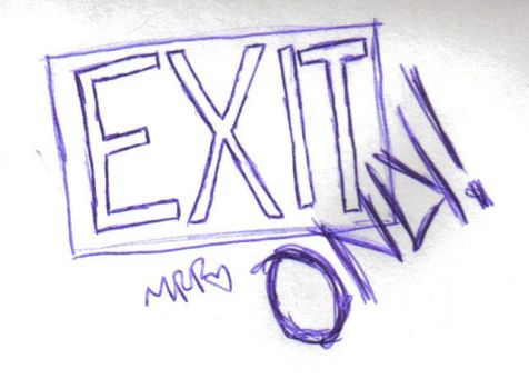 Exit ONLY by neul1690