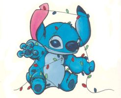 Stitch in Lights by xfkirsten