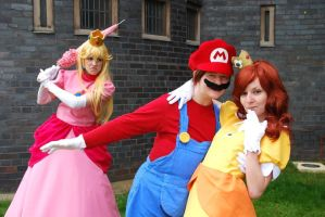 Get Your Hands Off My Plumber!! by JustPeachyCosplay