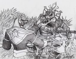 Nasus Vs Renekton by Kokakud-Master