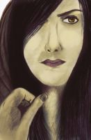 colored pencil on canson paper. by psychopathic-jad