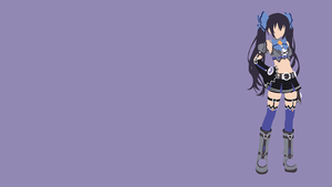 Noire Minimalist Wallpaper by Oldhat104