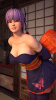 Ayane Purple Dress by Chrissy-Tee