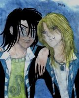 HP7-Albus and Scorpius by Dhesia