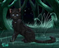 Cinderpelt in StarClan by Annalei