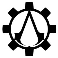 Steampunk Assassin's Creed Symbol Design 2 by Eryn-Grace-OMalley