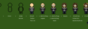 Pixel Graphic Step by Step - RPG Maker Character by MephistoNoSabaku