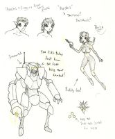 Xenovember 2013: 2nd concepts sketchdump by wightpower