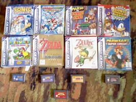 My Game Boy Advance Collection by 64marjo64