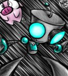 Gir and the Flying Pig by spookydoom