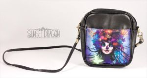Sugar Skull Purse by Flying-Fox
