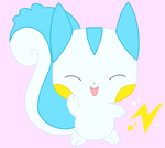 Pachi Pachi hello by drill-tail