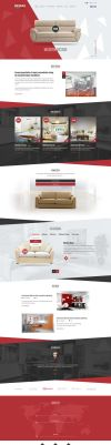 Furniture PSD Template by 1990Design